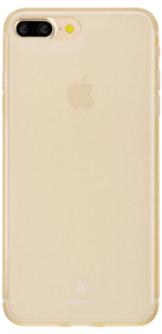 Чехол для iPhone 7 plus Baseus Slim Case Transparent Gold