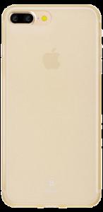 Чехол для iPhone 7 plus Baseus Slim Case Transparent Gold