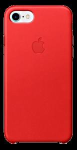 Чехол для iPhone 7 Original Leather Copy Red