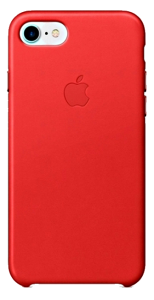 Чехол для iPhone 7/8/SE Original Leather Copy Red
