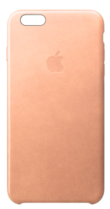 Чехол для iPhone 6 6s Original Leather Copy Gold