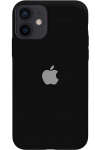 Чехол для iPhone 12 Black (With Camera Lens Protection)