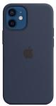 Чехол для iPhone 12 mini Original Silicone Copy Midnight Blue