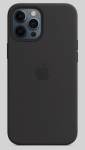 Чехол для iPhone 12 Pro Max Black (With Camera Lens Protection)