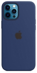 Чехол для iPhone 12 Pro Max Midnight Blue (With Camera Lens Protection)