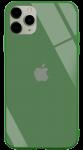 Чехол для iPhone 11 Pro Max Glass+TPU Case Pine Green