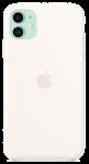 Чехол для iPhone 11 Original Silicone Copy White