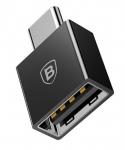 Переходник Baseus Exquisite Type-C to USB-A Black