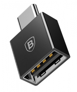 Переходник Baseus Exquisite Type-C to USB-A Black