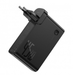 Сетевое зарядное устройство Baseus GaN 2in1 QC3.0+PD3.0 45W USB+Type-C 5A