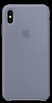 Чехол для iPhone Xs Max Original Silicone Copy Lavender Gray
