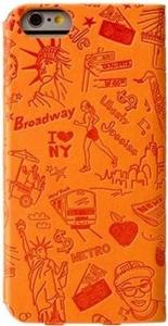 Чехол для iPhone 6 Ozaki Ocoat Travel New York