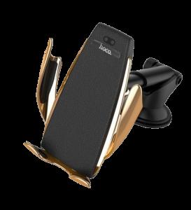 Автодержатель Hoco CA34 Elegant automatic induction wireless charging