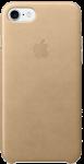 Чехол для iPhone 7/8/SE Original Leather Gold Copy