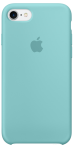 Чехол для iPhone 7/8/SE Original Silicone Copy Sea Blue