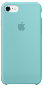 Чехол для iPhone 7 Original Silicone Copy Sea Blue