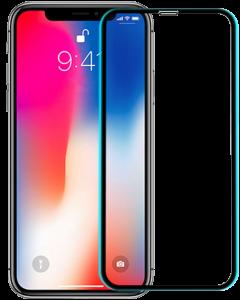 Защитное стекло для iPhone X Blueo 3D Hot Bending Black