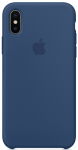 Чехол для iPhone X Original Silicone Copy Blue