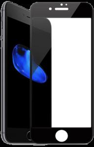 Защитное стекло iPhone 7/8 Plus Devia 3D Black