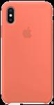 Чехол для iPhone X Original Silicone Copy Orange