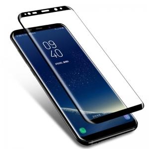 Защитное стекло Samsung S8 tempred glass 3D Black