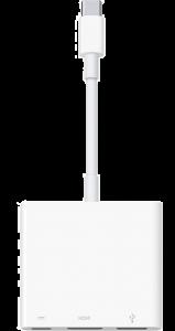 Apple USB-C Digital AV Multiport Adapter (MJ1K2)
