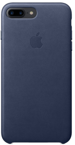Чехол для iPhone 7 Plus Original Leather Copy Midnight Blue
