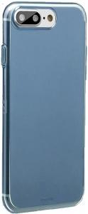 Чехол для iPhone 7 plus Baseus Simple  Series Case Transparent Blue