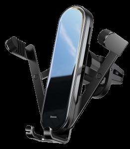 Автодержатель Baseus SUYL-QE01 Penguin gravity phone holder Black
