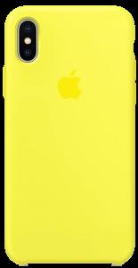 Чехол для iPhone X Original Silicone Copy Flash