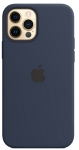 Чехол для iPhone 12/12 Pro Original Silicone Copy Midnight Blue