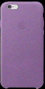 Чехол для iPhone 6 6s Original Leather Copy Purple