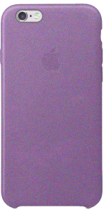Чехол для iPhone 6 6s Original Leather Copy Purple