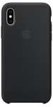 Чехол для iPhone Xs Original Silicone Copy Black