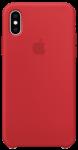 Чехол для iPhone Xs Original Silicone Copy Red