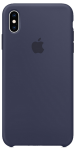 Чехол для iPhone Xs Original Silicone Copy Midnight Blue