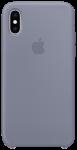 Чехол для iPhone Xs Original Silicone Copy Lavender Gray