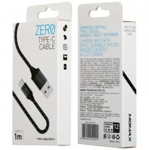 Кабель Momax  ZERO USB-A to USB-C Cable 1m