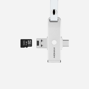 Переходник Momax CT3S OneLink USB Type C OTG Reader