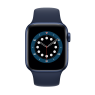 Watch 44mm Blue Aluminum Case with Deep Navy Sport Band (M00J3) Series 6 GP
