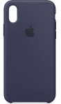 Чехол для iPhone Xr Original Silicone Copy Midnight Blue