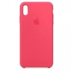 Чехол для iPhone Xs Original Silicone Hibiscus