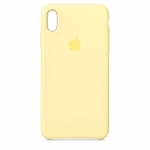 Чехол для iPhone Xs Original Silicone Mellow Yellow