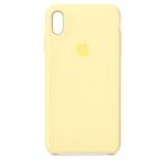 Чехол для iPhone Xs Original Silicone Mellow Yellow