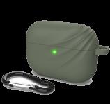 Силиконовый чехол для Airpods Pro Devia Elf 2 Series Silicone Case Green