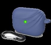 Силиконовый чехол для Airpods Pro Devia Elf 2 Series Silicone Case Blue