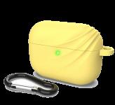 Силиконовый чехол для Airpods Pro Devia Elf 2 Series Silicone Case Yellow