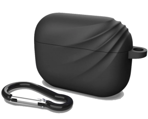Силиконовый чехол для Airpods Pro Devia Elf 2 Series Silicone Case Black