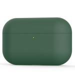 Силиконовый чехол для Airpods Pro Ultra Thin Dark Green
