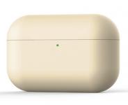 Силиконовый чехол для Airpods Pro Ultra Skinny Ivory